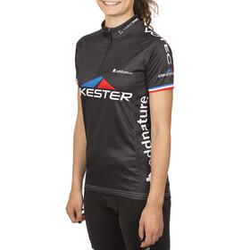 Bikester Basic Team Koszulka kolarska, krótki rękaw Kobiety czarny